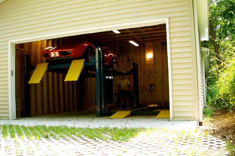 Four Car Storage | Garage Builders of Raleigh