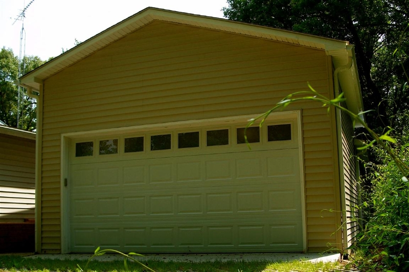 Four Car Storage Garage Builders Of Raleigh