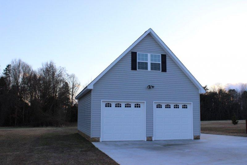 1 1 2 story garage builders of raleigh for Garage builders raleigh nc