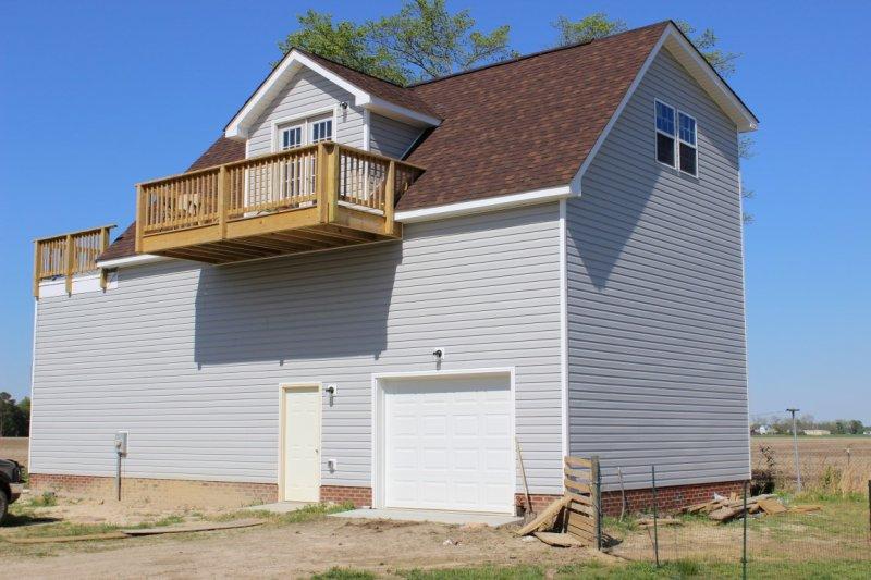 Rv home garage builders of raleigh for Rv garage builders