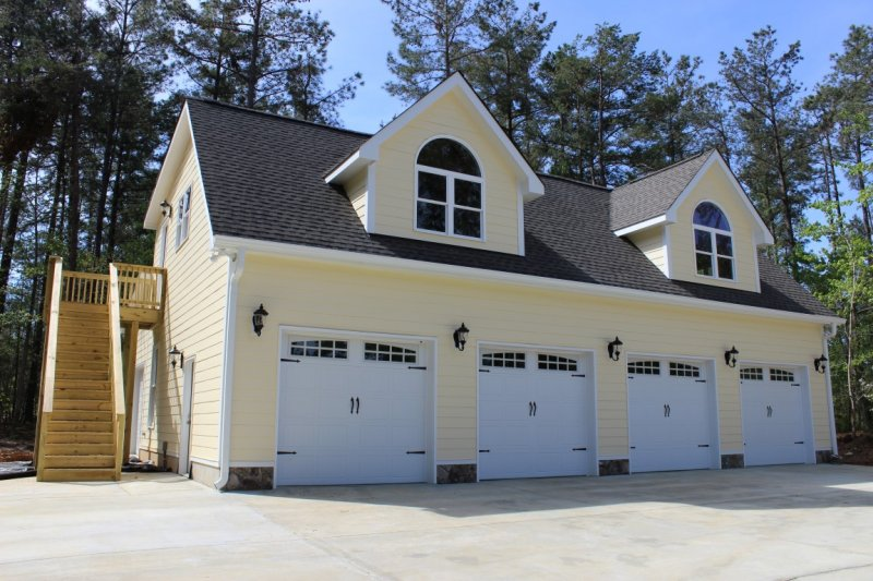 Sunrise stable garage builders of raleigh for Garage builders raleigh nc
