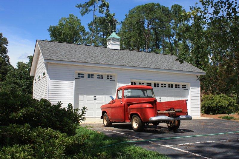 1 story garage builders of raleigh for Garage builders raleigh nc