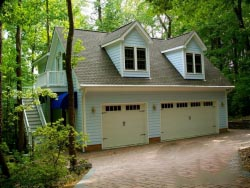 Two Story Garage Builders Of Raleigh